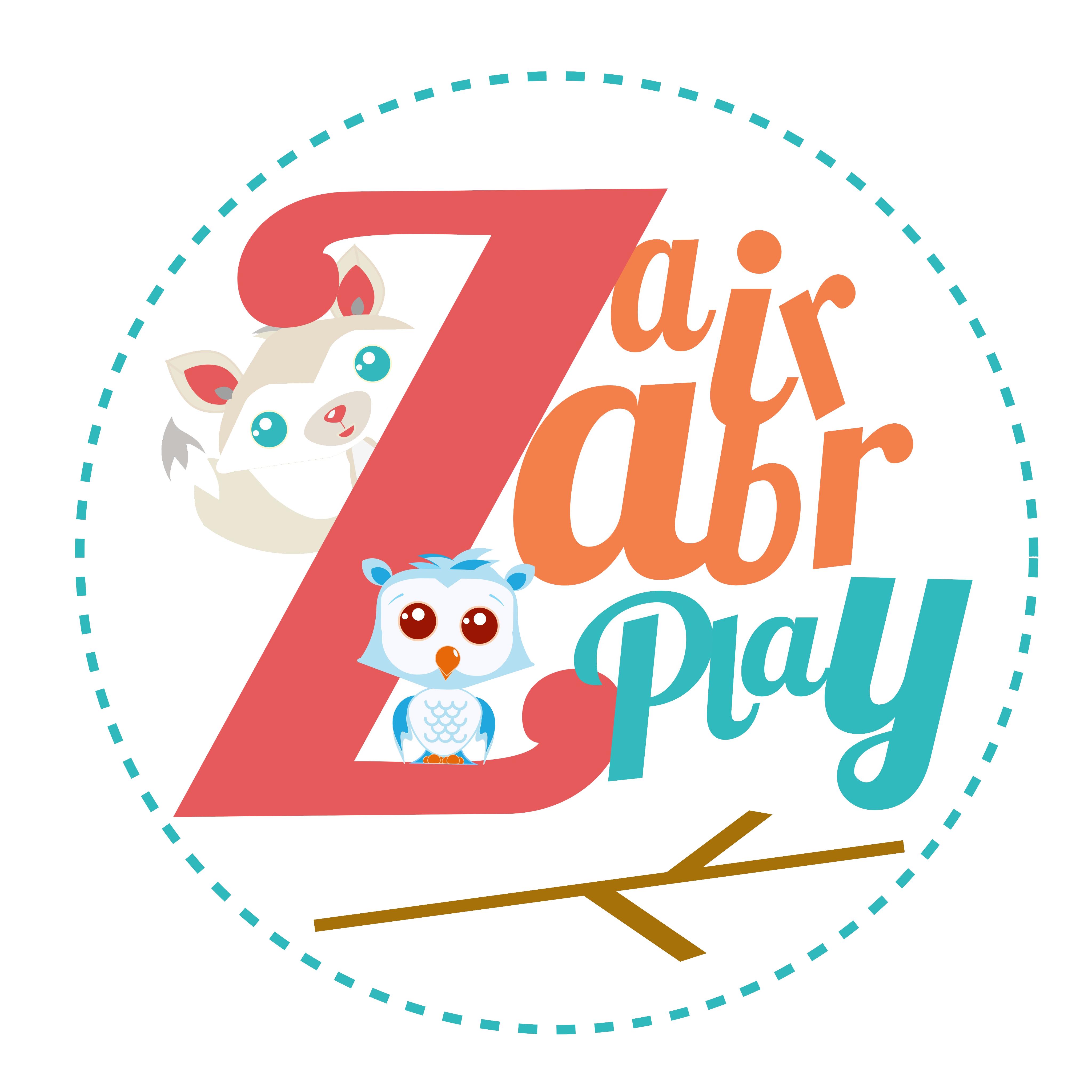 Zair Zabr Play Logo